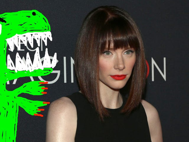 Bryce Dallas Howard Will Be Lead Dino Wrangler in Jurassic Park Sequel