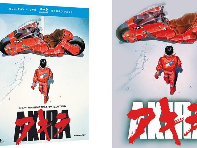 25th Anniversary Akira Hits Blu-ray On Tuesday