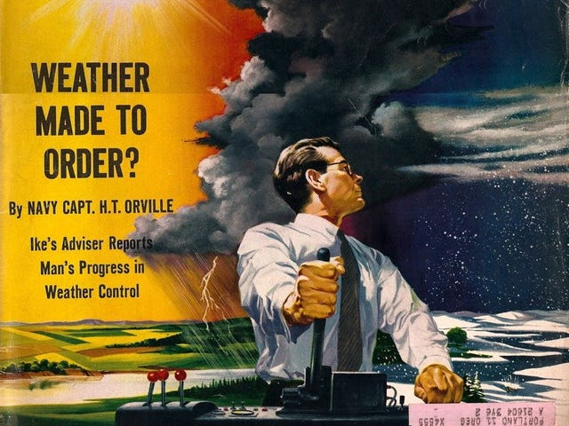 Weather Control as a Cold War Weapon