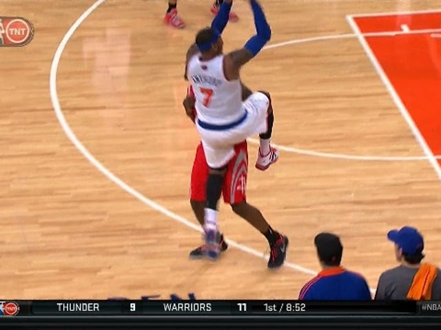 Officials Correctly Wave Off Melo's Game-Tying Three; Knicks Lose
