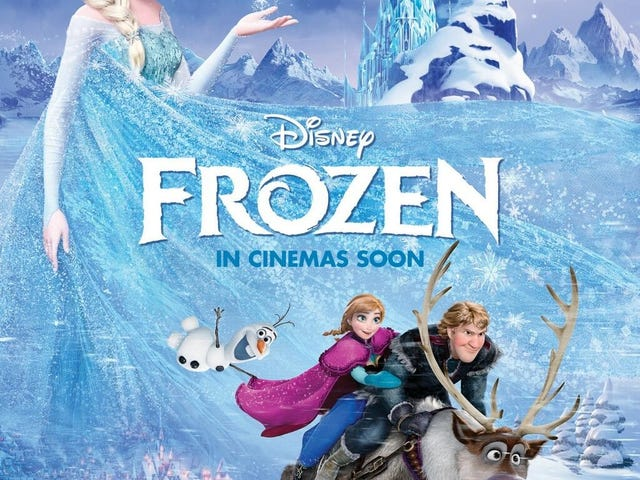 Frozen... a good movie, but something is missing (light spoilers)