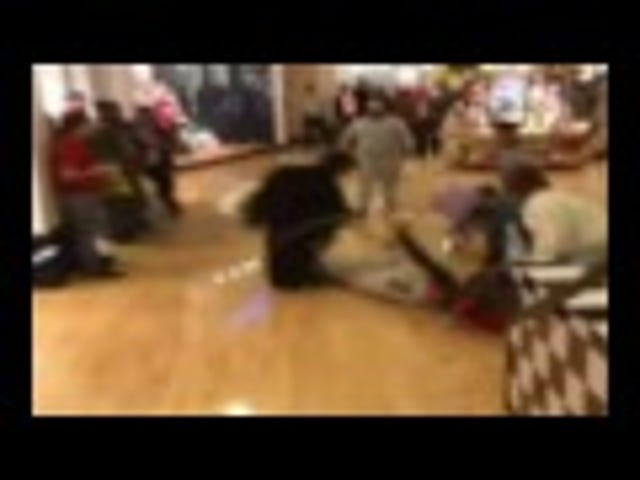A Stun Gun Fight On Black Friday