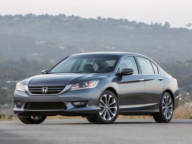Honda Accord Sport: Round 2