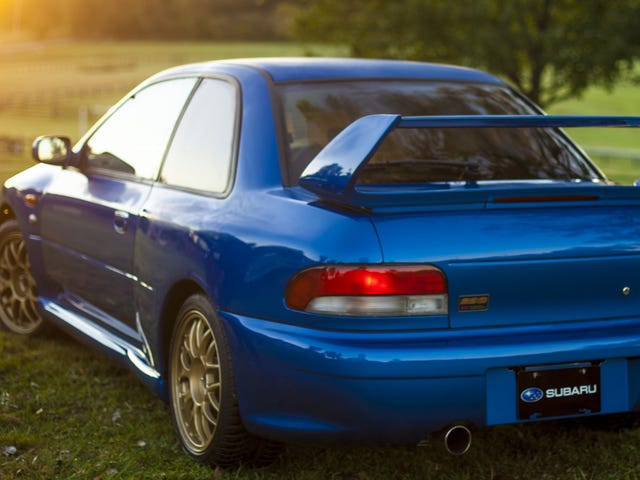 The Impreza 22B Was The Ultimate Thoroughbred Subaru