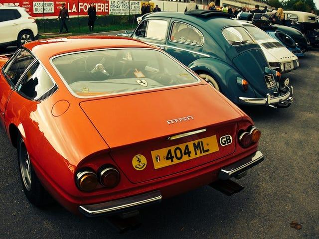 The Ferrari Daytona returns to Reims - the Journées d'Automne 2013