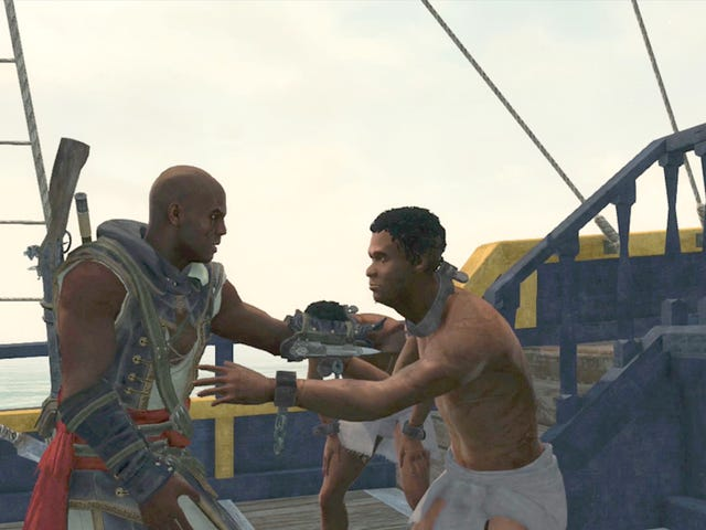 ​Taking Down a Slave Ship in Assassin's Creed IV's DLC Isn't Easy