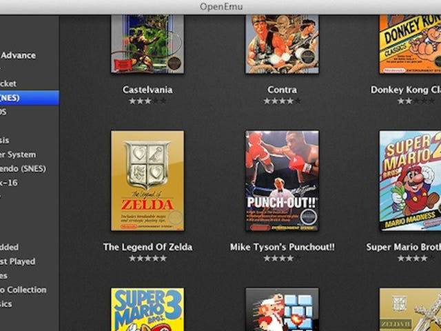 OpenEmu Emulates Nearly Every Classic Console on Mac