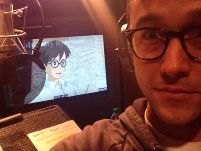 "Joseph Gordon-Levitt voicing the lead in Miyazaki's ""The Wind Rises"""