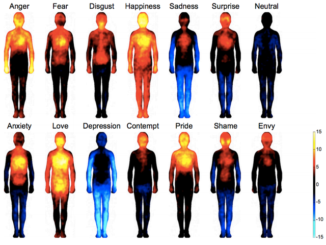 Where Emotions Hit You, Visualized