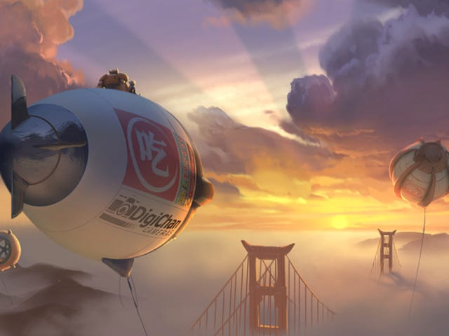 The animated Marvel film Big Hero 6 gets a new director