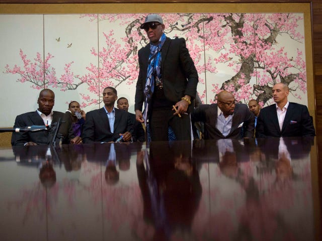 Dennis Rodman's North Korea Trip May Be Falling Apart