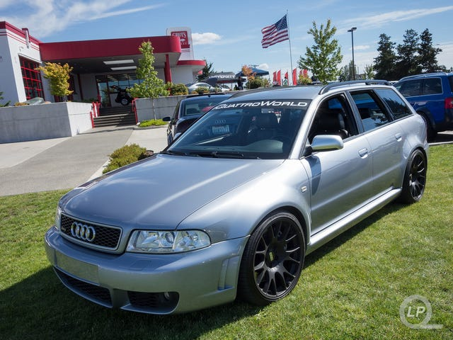 B5 RS 4 Avant-licious