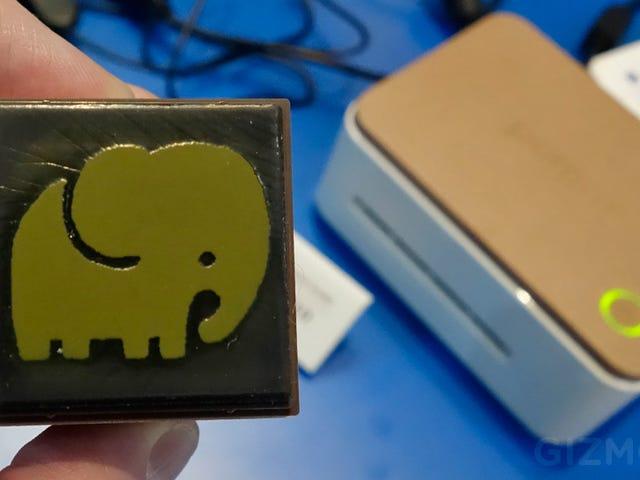 Scrapbookers Rejoice! Casio's Pomrie Prints Adorable Rubber Stamps