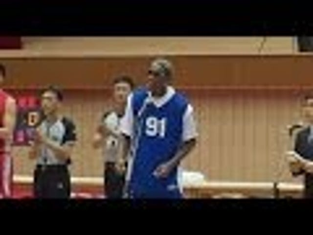 "Here's Dennis Rodman Singing ""Happy Birthday"" To Kim Jong-un"