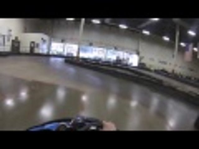 Karting: Who was in the wrong here?