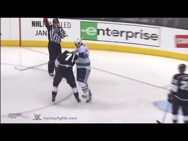 Officials Sent The Wrong Sedin Twin To The Penalty Box