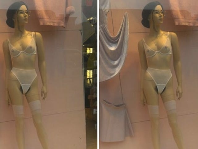 American Apparel Now Accessorizing Mannequins With Full Bush