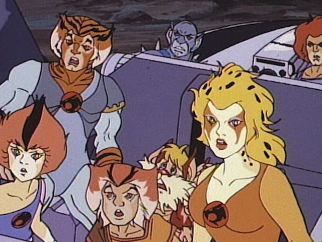 12 Insane Things You Totally Forgot About the ThunderCats