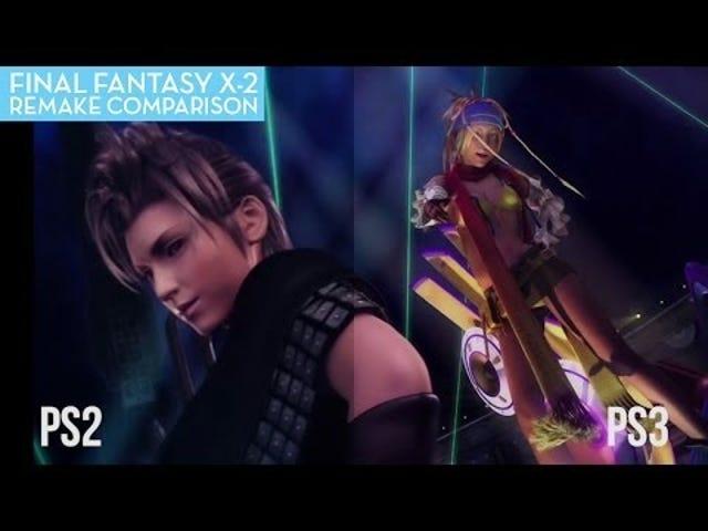 A Final Fantasy X-2 Comparison: HD vs. SD