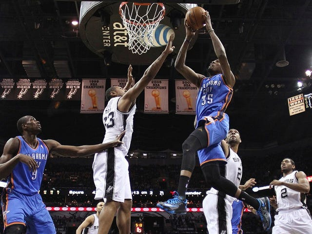 The West Is OKC's Until Kevin Durant Says Otherwise