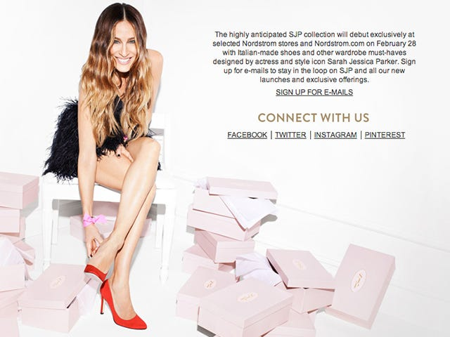 Pedi Alert: Sarah Jessica Parker's Shoe Collection Debuts in One Month