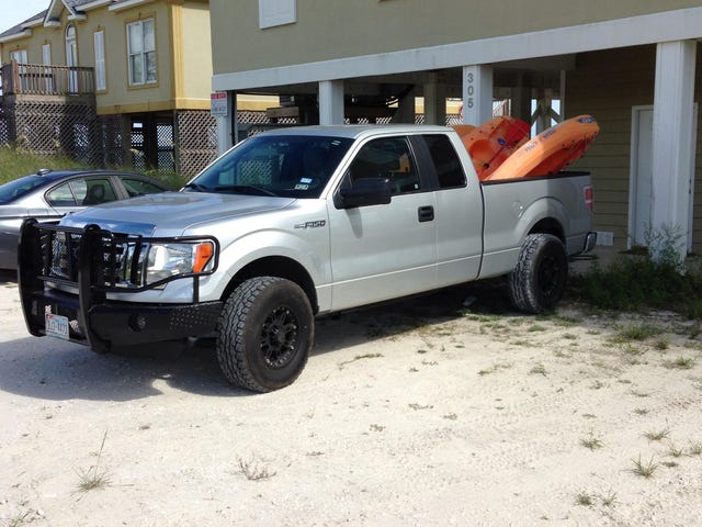 Question for anyone with an 09+ 4x4 F150