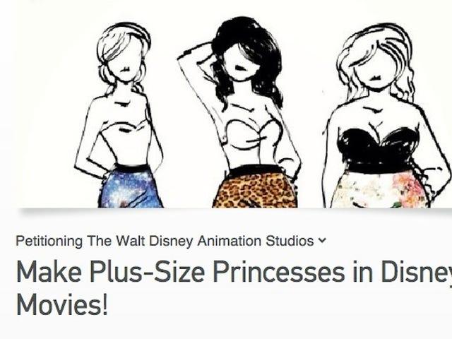 Teen Asks Disney to Make a Plus-Size Princess
