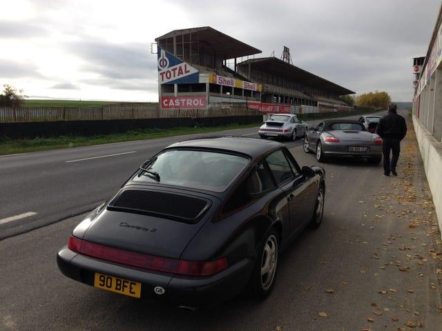Driven: Porsche 964 across France