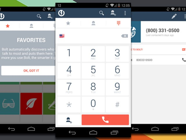 Bolt Provides Free VoiP Calling on Android Built into a Dialer App