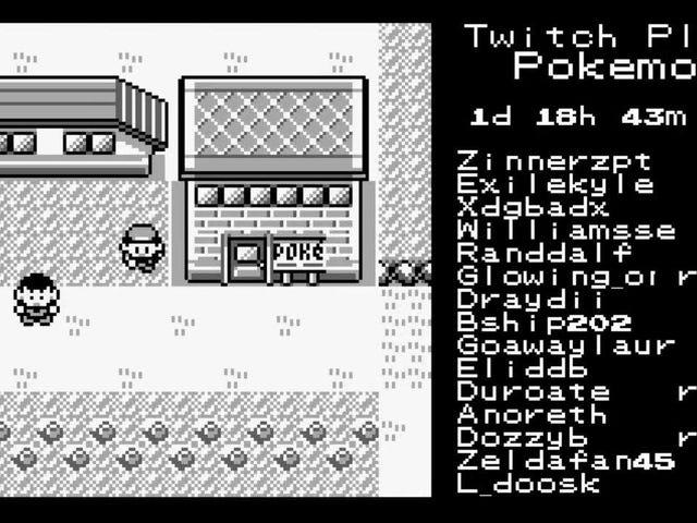 How Players Actually Make Progress in 'Twitch Plays Pokémon'