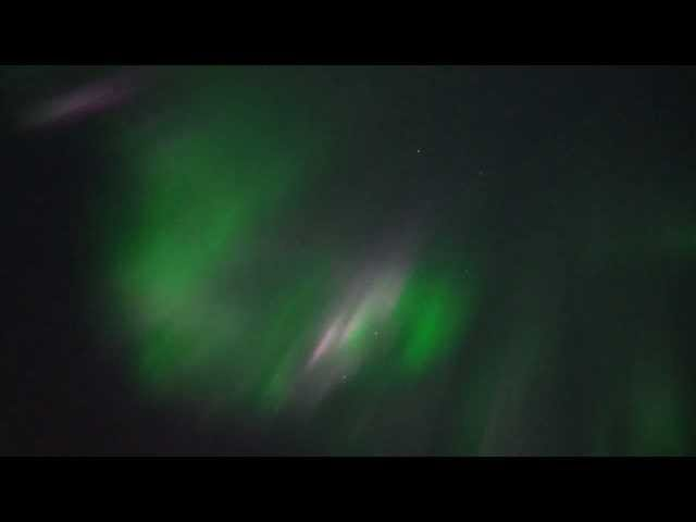 Aurora Borealis during a solar flare is the very best kind of madness