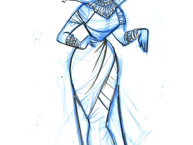 Stunning Frozen Concept Art Reveals The Snow Queen You Didn't See