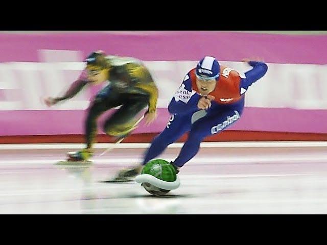 """""""Mario Kart"""" Speed Skating"""