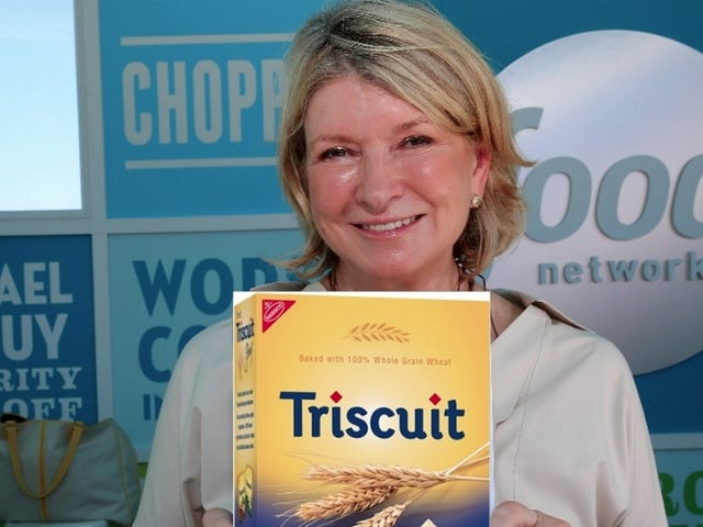 Martha Stewart Is Wondering Aloud About Crackers