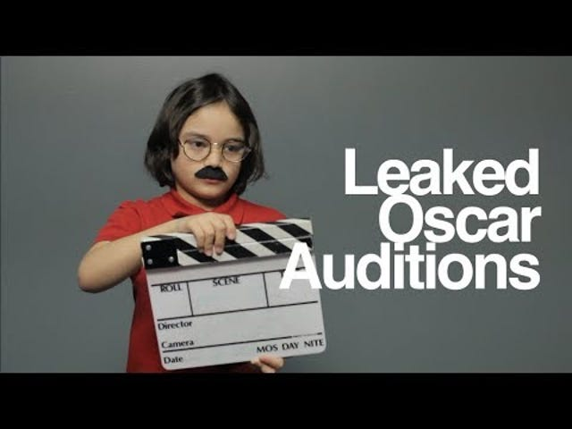 Kids Make Adorable 'Leaked' Oscars Nominees Audition Tapes