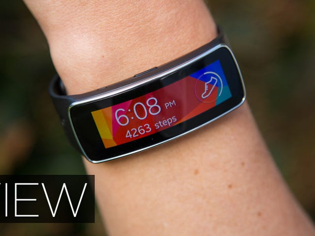 Samsung Gear Fit Review: A Beautiful Wristable Gone to Waste