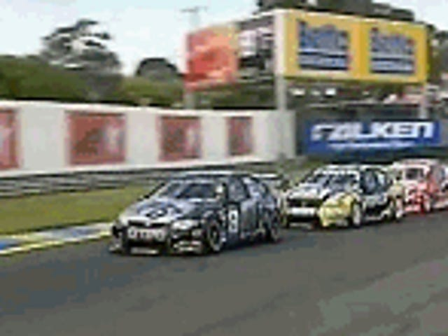 Touring Cars Touching Tires Thursday
