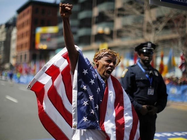 Meb wins Boston, idiots respond predictably.