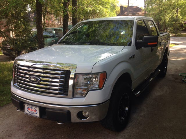 Looking for a white and black grille for a 2010-14 f150