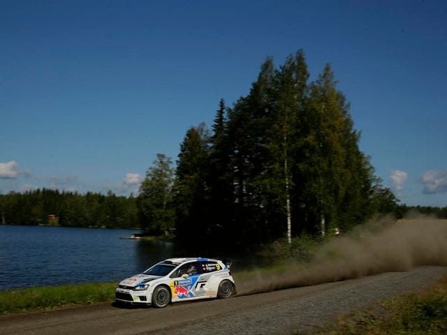 WRC Finland: Two VW drivers go head to head before last day