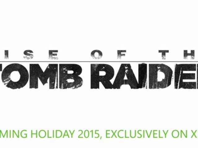 Tomb Raider - Timed Exclusive Cherry-Picking