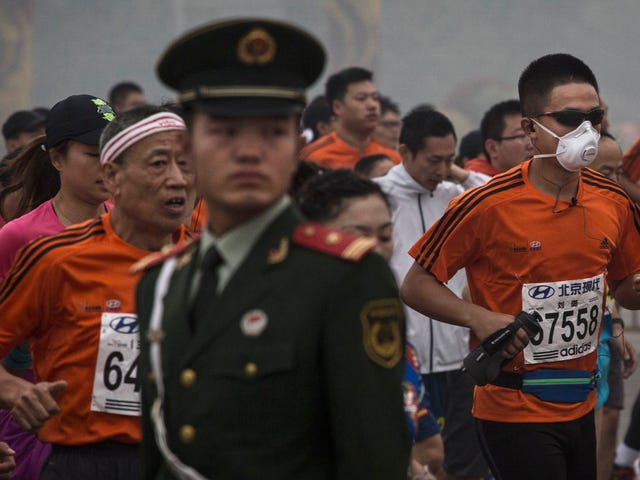 Beijing Marathon Tests Positive For Fine Particulates