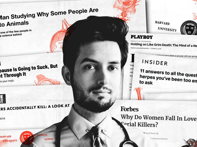The Fake Sex Doctor Who Conned the Media Into Publicizing His Bizarre Research on Suicide, Butt-Fisting, and Bestiality