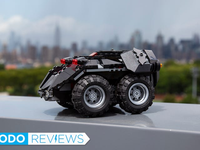 The New RC Lego Batmobile Is Your Puppy's Worst Nightmare