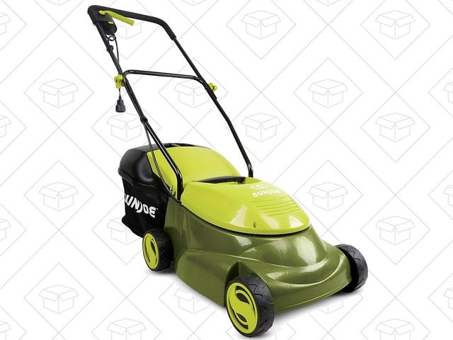 Switch To An Electric Lawn Mower For Just $79