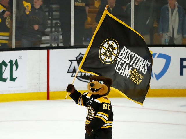 The Bruins Don't Want To Talk About Getting Into Bed With Barstool Sports