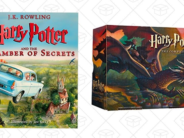 Amazon Waved Its Discounted Wand Over These Harry Potter Books