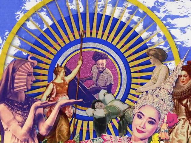 Women of History Steal the Show In This New, Psychedelic Video for a Rolling Stones Classic