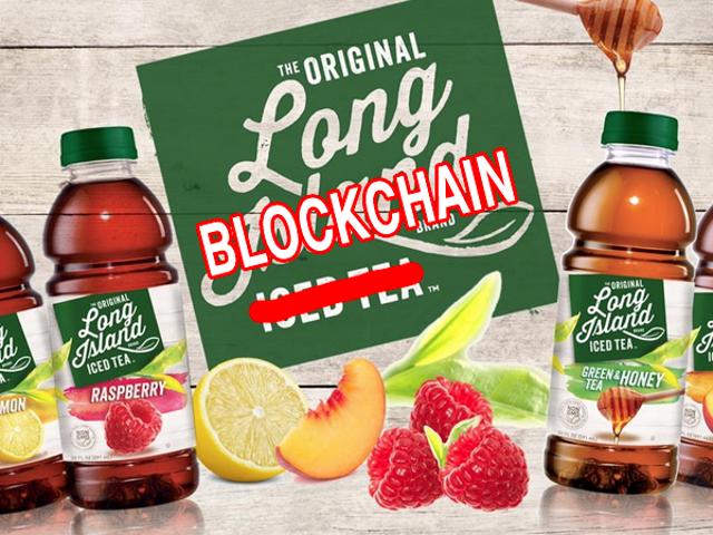"""Il prezzo delle azioni di Iced Tea Maker è triplicato dopo aver aggiunto """"Blockchain"""" al nome"""