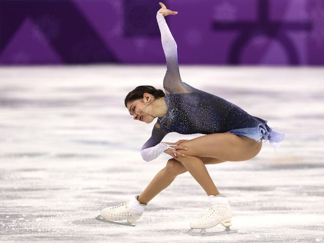 "The Theme Of Russian Skater Evgenia Medvedeva's Short Program Is ""Clinical Death"""